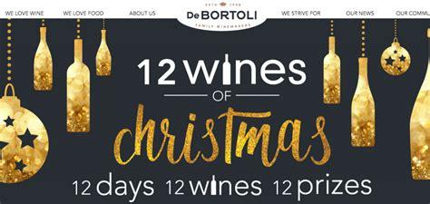 Enter To Win Christmas Money - debortoli 12 wines of christmas win 12 wines 12 days australian competitions