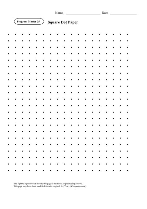 printable dot paper 1 cm square dot paper in word and pdf formats