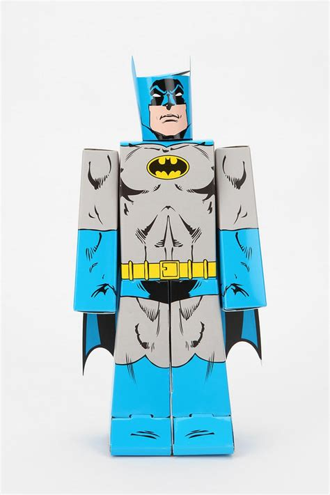 batman crafts for kooky craft diy paper figure batman they others