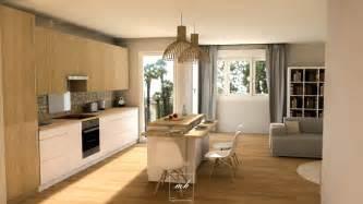 Supérieur Image Cuisine Ouverte Sur Salon #3: Amenager-cuisine-ouverte-et-ilot.jpg