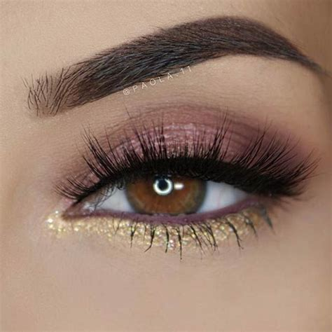 Eyeshadow Gold 25 best ideas about gold eye makeup on gold