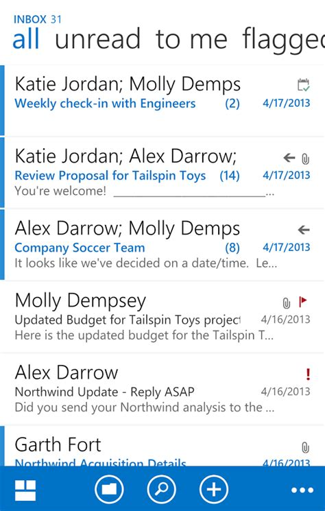 Office 365 Mail For Android Owa For Android Pre Release Android Apps On Play