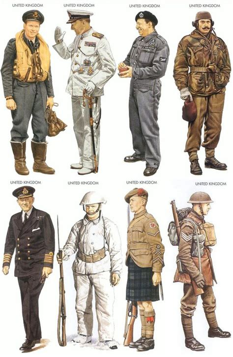 ww2 british soldier uniform uniforms an assortment of uniforms worn by british