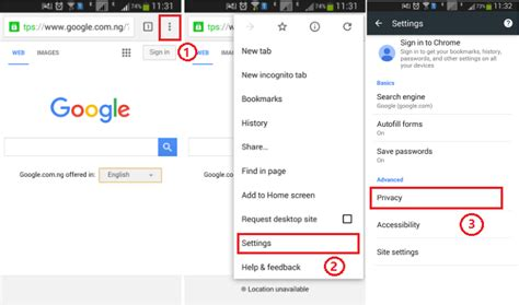 clear chrome cache android how to clear cache in chrome