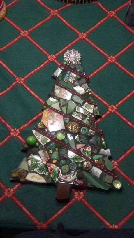 mosaic christmas tree stained glass mosaics and