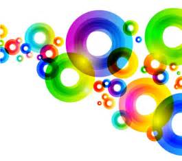 colorful circles colorful circles background vector graphic free vector