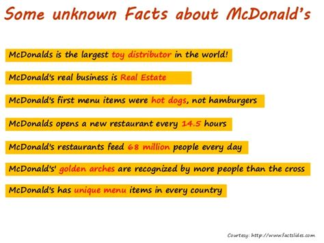 new year facts and figures cbbe model mc donalds