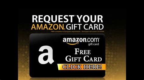 How To Get Amazon Gift Card For Free - how to get free amazon gift cards 100 legal youtube