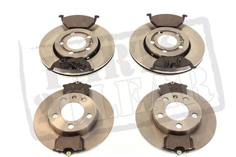 audi a3 brake discs and pads audi a3 mk1 front rear brake discs pads set kit