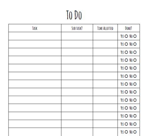 printable studyblr printable to do list tumblr