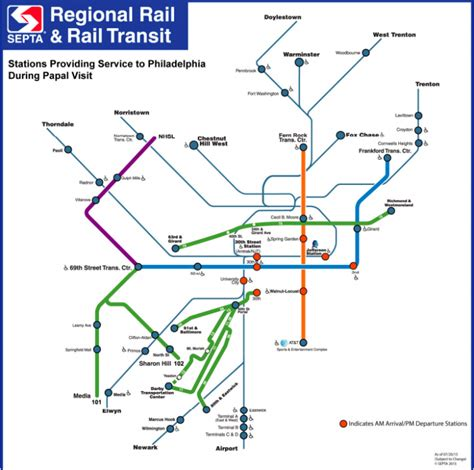 septa regional rail map planphilly septa to hold lottery for papal regional rail passes aug 3rd