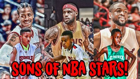 legends the best players and teams in basketball books 5 sons of nba legends who play just like their dads