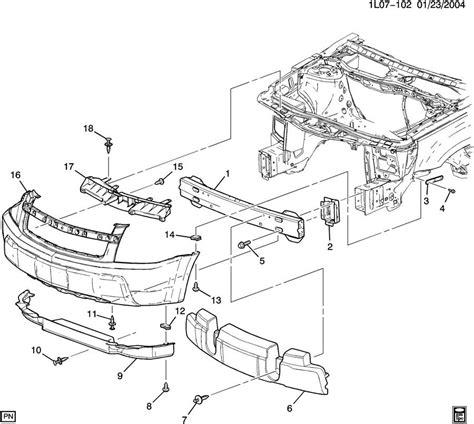 2005 chevy equinox parts diagram chevrolet parts autos post