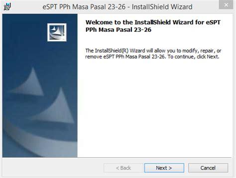 membuat database espt pph 23 cara install aplikasi dan setting database espt pph masa 23