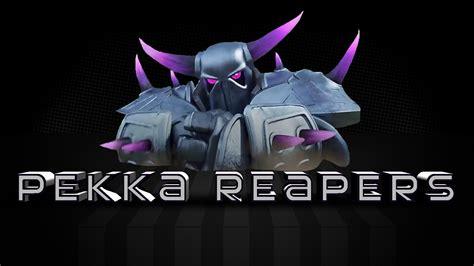 wallpaper coc dark pekka reapers clash of clans hd wallpaper