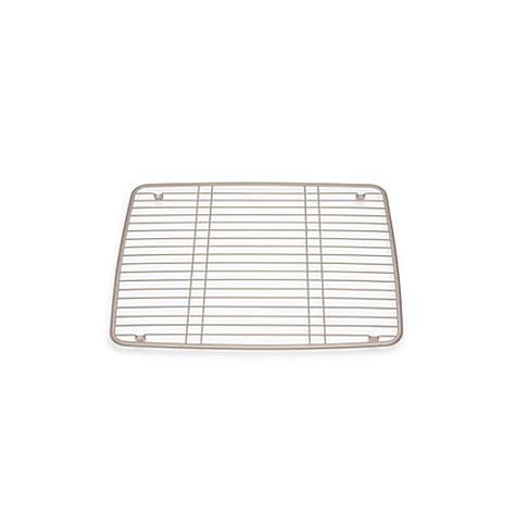 1 Inch Grid Mat by Buy Interdesign 174 Kitchen Sink 16 Inch X 13 Inch Protector