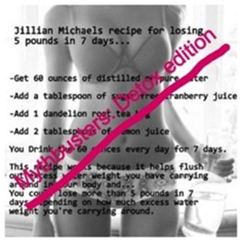 Jillian Detox Results by 1000 Images About Detox Waters On Detox