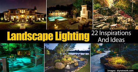 landscaping lights ideas 22 outdoor lighting ideas for the landscape