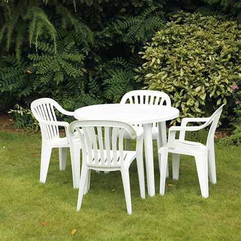 white patio furniture white patio chair