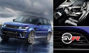 first range rover ever made range rover sport svr is fastest ever made with top speed