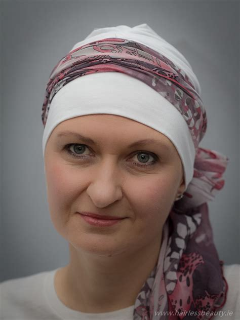 hats scarves and turbans for chemo alopecia patients
