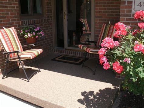 Concrete Patio Treatments concrete porch treatment traditional patio indianapolis