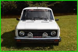 Fiat 128 Rally For Sale 1977 Fiat 128 Coupe Rally For Sale Photos Technical