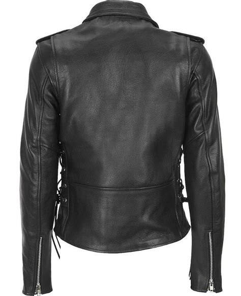 Plus Size Leather King Leather Classic Asymmetrical Cycle