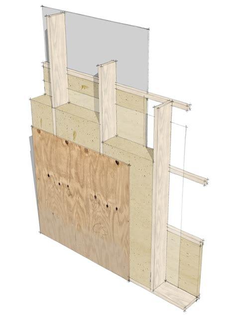 modern wall construction modern house plans by gregory la vardera architect usa