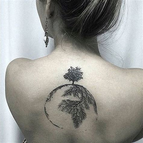 tree and earth tattoo venice tattoo art designs