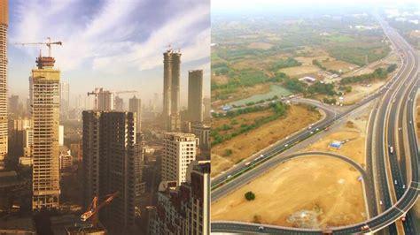 Mumbai city skyline latest 2017 ! - YouTube