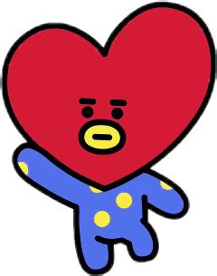 kim taehyung bt21 popular and trending bt21 stickers on picsart