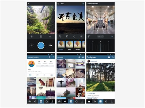 layout instagram samsung instagram for android 5 1 brings new design better
