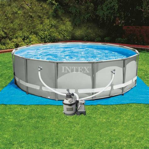 Piscine Intex 35 by Piscine 4 57 X 1 22 Piscine Ultra Silver Lesitedegertrude