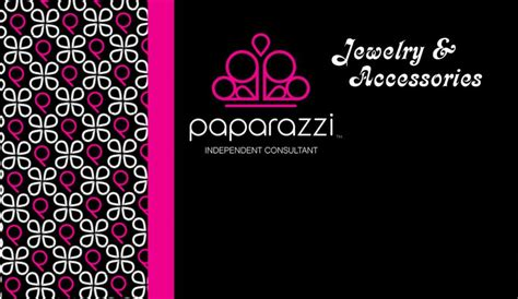 paparazzi accessories business card template paparazzi promotional pictures