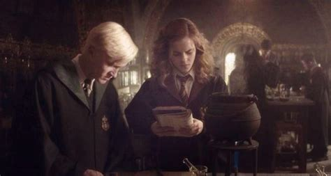 draco malfoy and hermione granger dramione