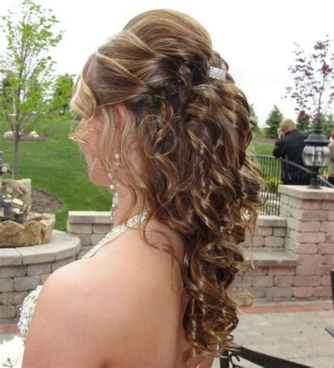 prom hairstyles half up half down curly 39 half up half down hairstyles to make you look perfect