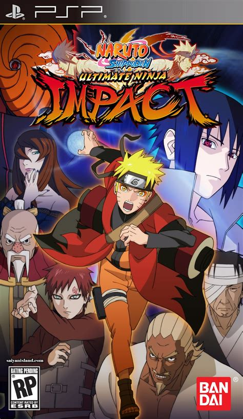 psp naruto shippuden ultimate ninja impact iso link