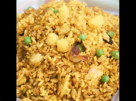 langkah2 membuat nasi uduk resep cara membuat nasi goreng jawa spesial youtube
