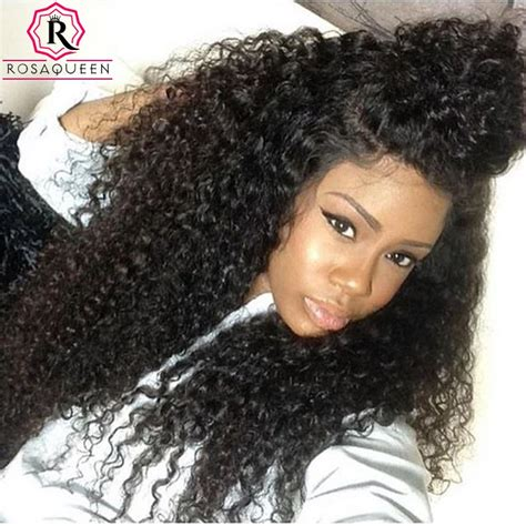 kinky curly human hair full lace front wigs 360 lace frontal wigs 180 density full lace human hair