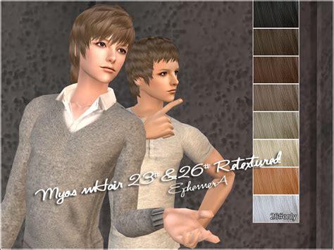 men hair sims 2 mod the sims featured creator teru k