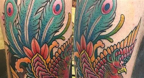 phoenix tattoo glasgow all healed apart from tail phoenix by laurakennedytattoo