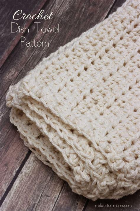 pattern crochet dish towel crochet dish towel pattern midwestern moms