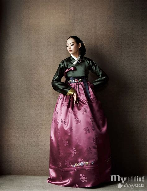Fashion Korea 898 hanbok korean traditional clothes my wedding 겨울 신부의