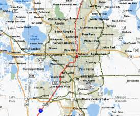 Map Of Orlando Fl by Orlando Florida Map Related Keywords Amp Suggestions