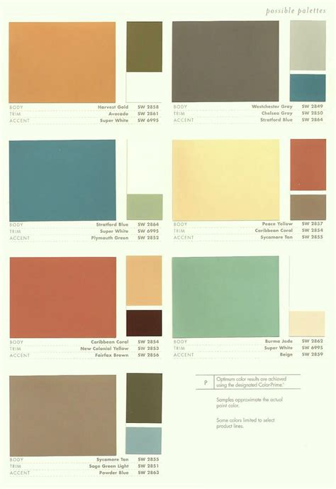 mid century modern paint colors interior design