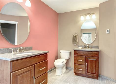 coral bathrooms bay coral bathroom bathroom colours rooms by colour