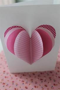 unique homemade valentine card design ideas family