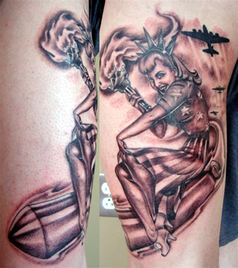 tattoo inspiration pin up vintage army pin up girl tattoo www imgkid com the
