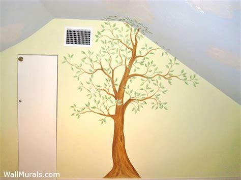 tree wall murals 50 hand painted tree wall mural